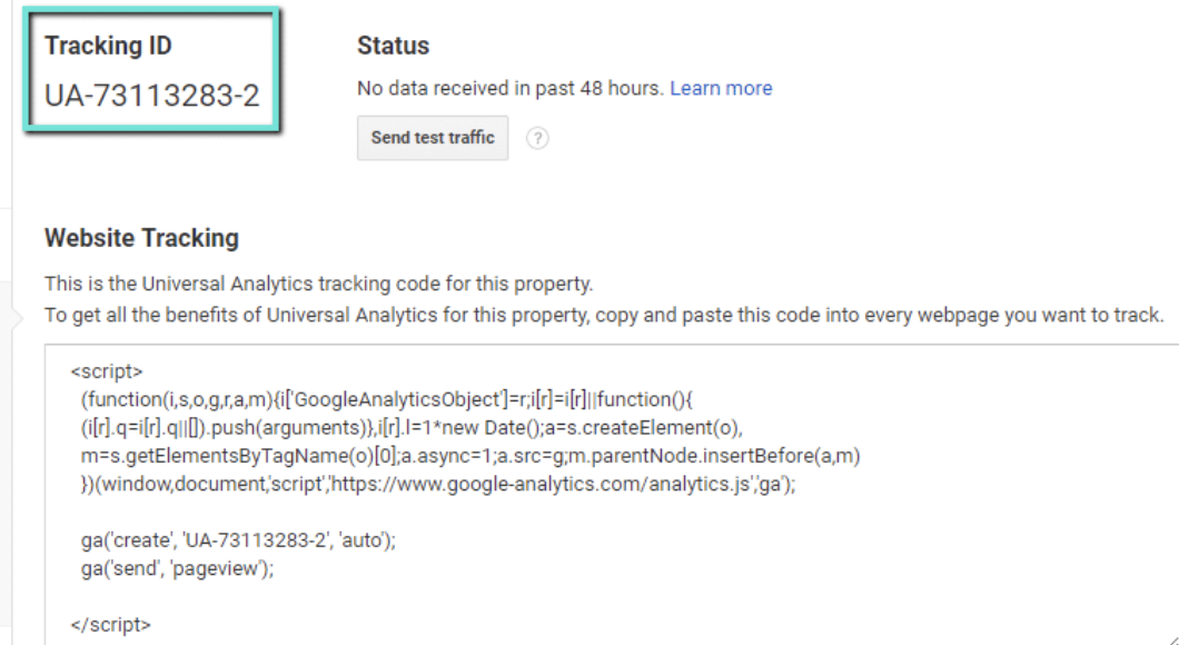 google-analytics-tracking-id