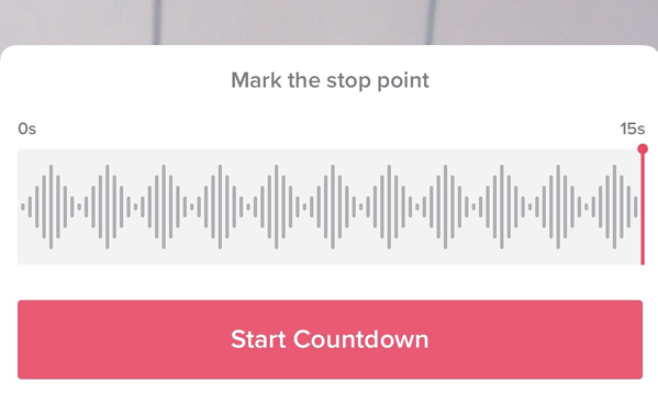 Setting a video recording timer on TikTok