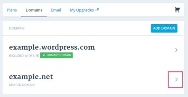 Set up a custom domain for the WordPress website