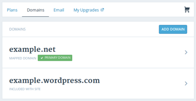 verify domain for WordPress website