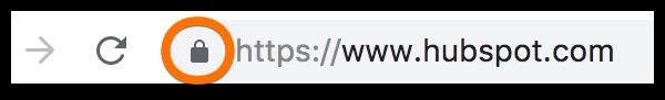 hubspot secure ssl url