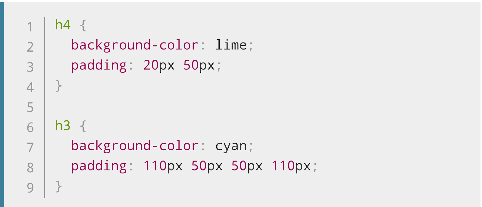 How to Add Padding in CSS