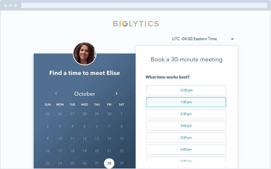 HubSpot Meetings Tool Best Scheduling Polls and Surveys