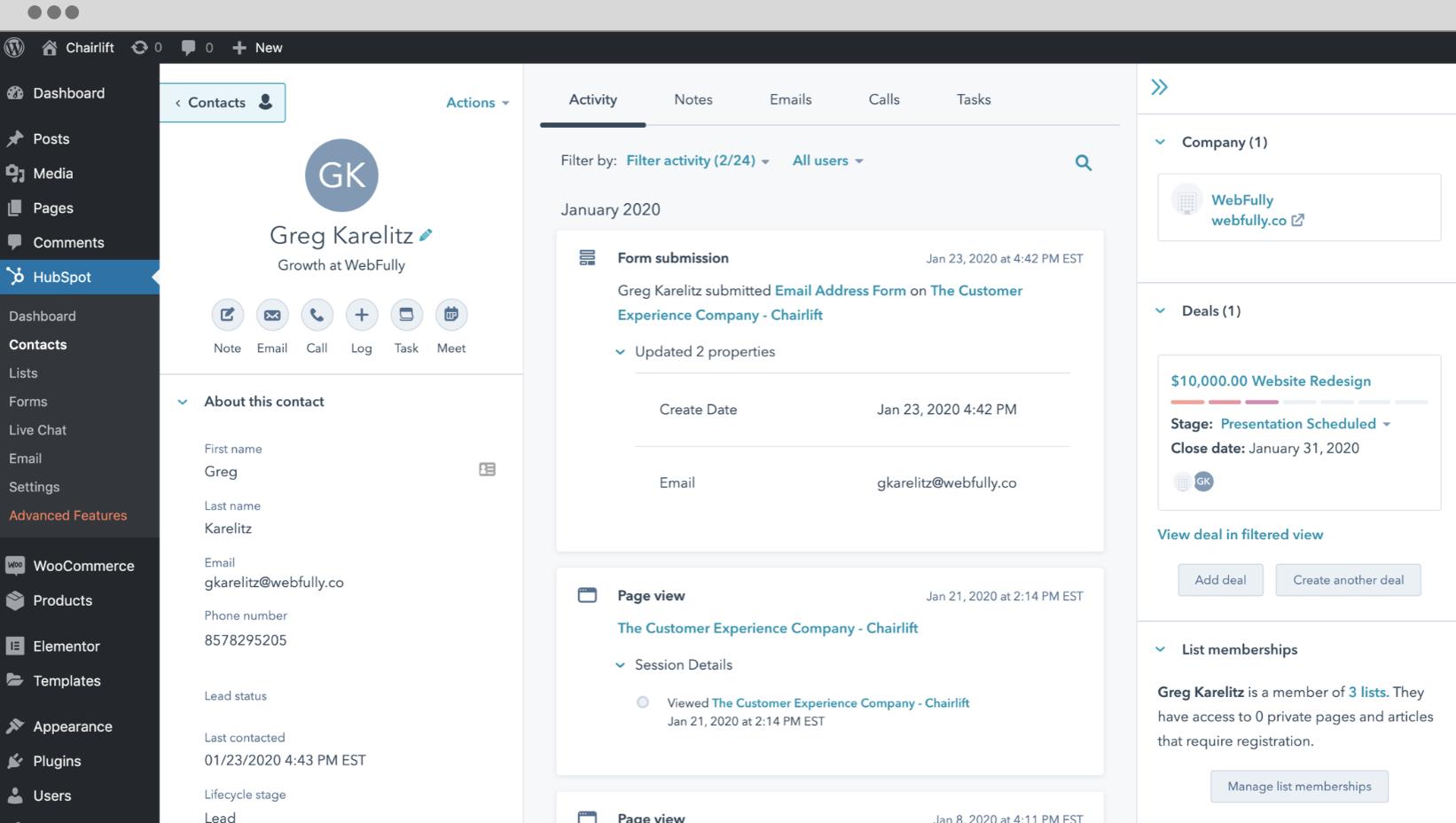 HubSpot for WordPress-1