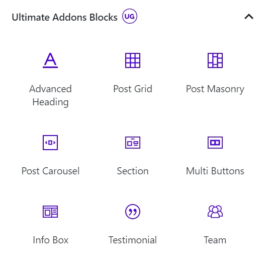 gutenberg blocks wordpress plugin block addons