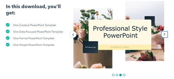HubSpot PowerPoint templates