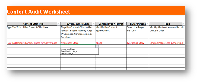 3 Steps to Creating a Content Inventory for the Buyer\'s Journey
