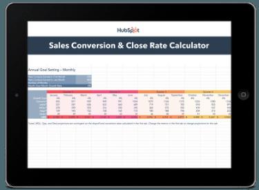 sales close rate