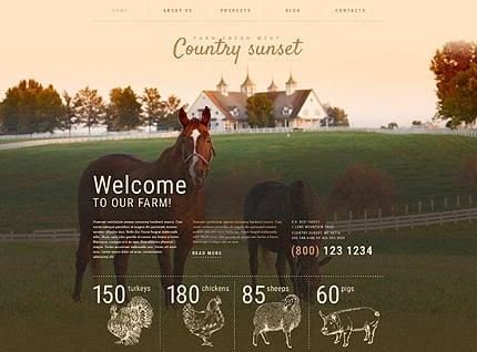 Farm WordPress Template