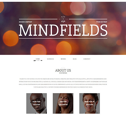 Design Company WordPress Theme