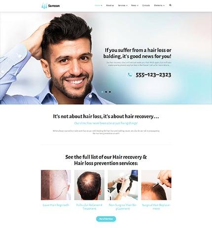medical WordPress template