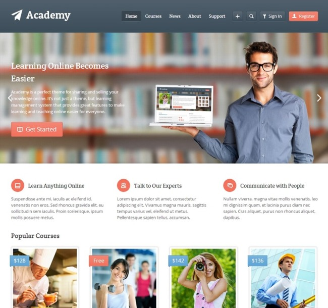 Academy-education-wordpress-themes