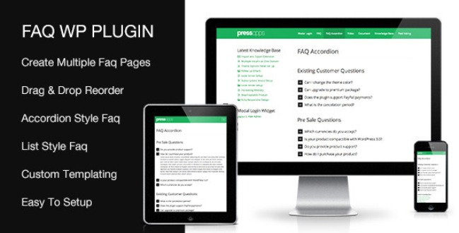 Accordion FAQ Plugin