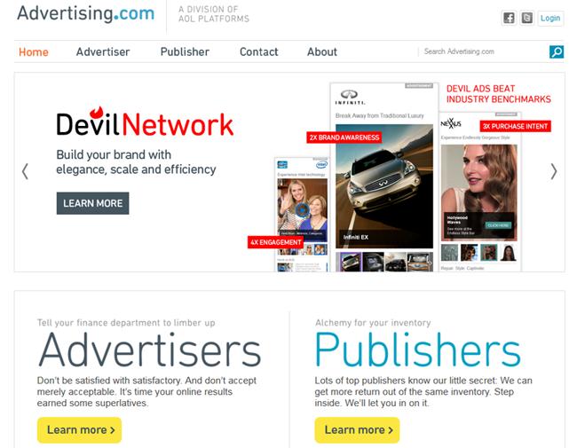 Advertising.com ad platform