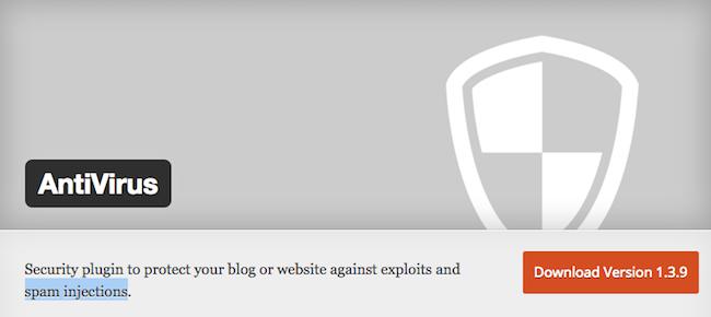 Antivirus WordPress Plugin