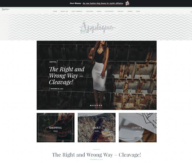 Applique Fashion Blog