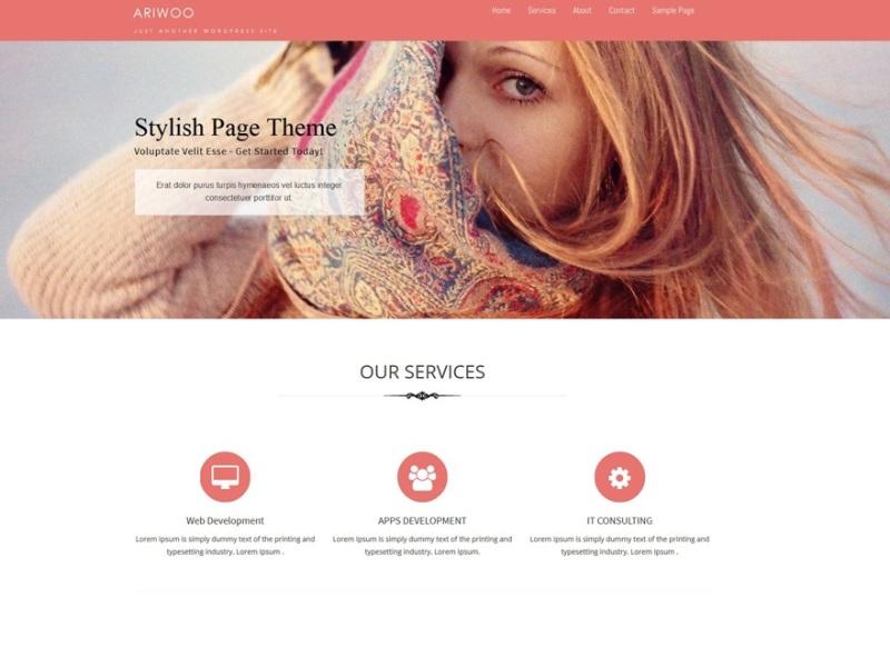 Ariwoo WordPress Theme