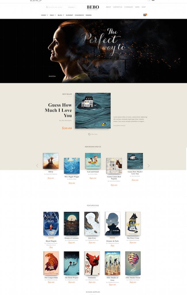 BEBO WordPress Theme