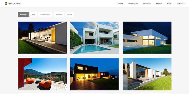 Bauhaus WordPress Theme