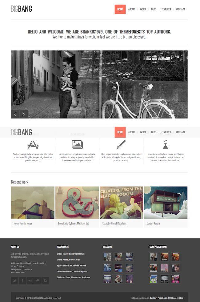 BigbangWP WordPress Theme