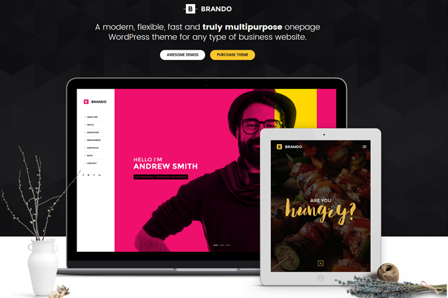 brando wordpress theme