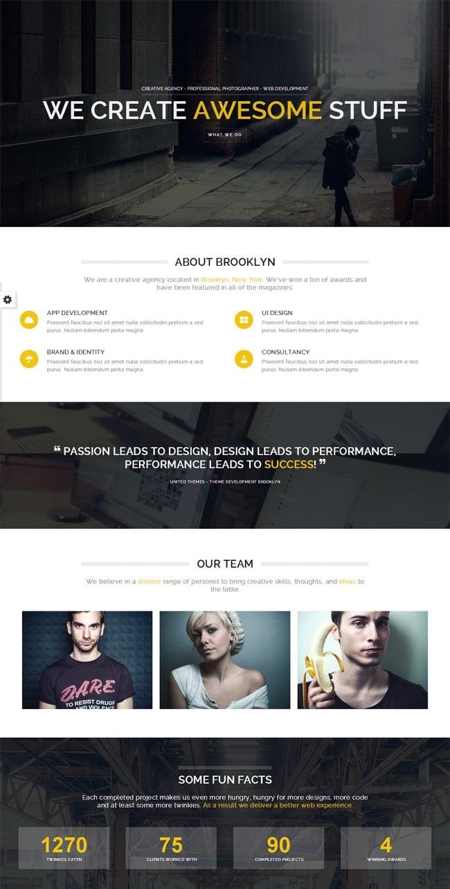 Brooklyn-Creative-One-Page-Multi-Purpose-Theme