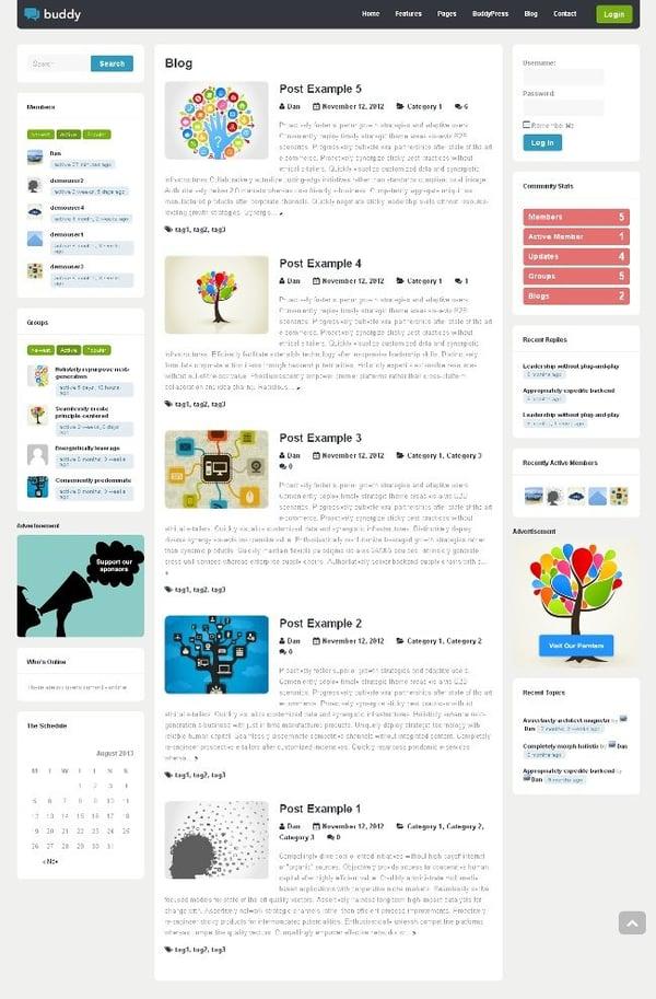 Buddy-BuddyPress-theme