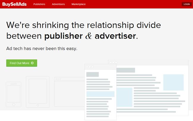 BuySellAds ad platform