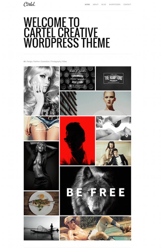 Cartel WordPress Theme