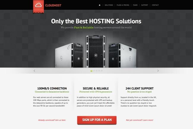 Cloud-Host-WordPress-Theme