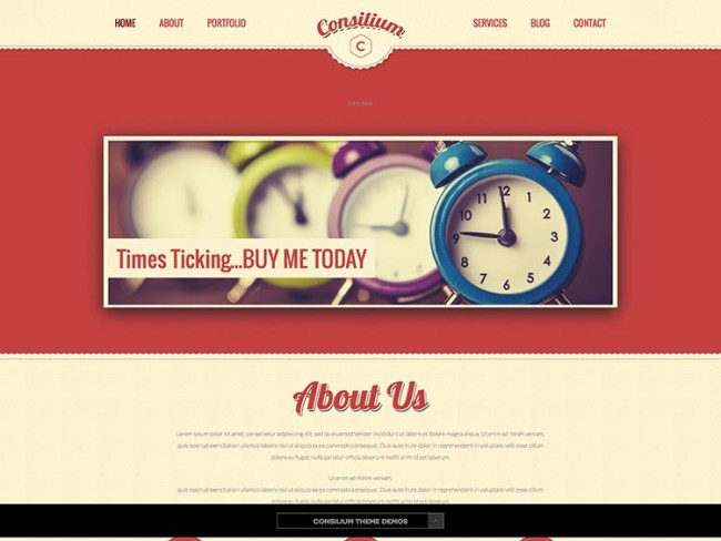 Consilium WordPress Theme