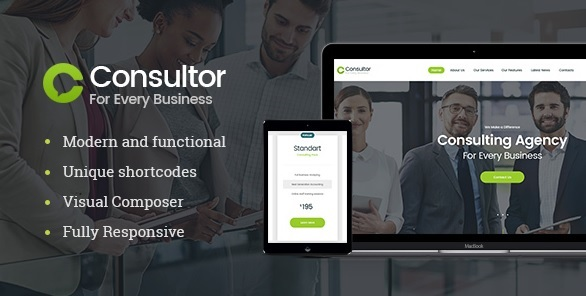 consultor wordpress theme