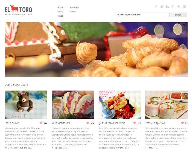 Content sharing WordPress theme