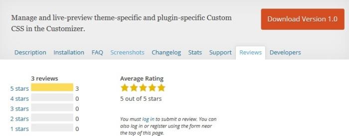 Modular Custom CSS Plugin