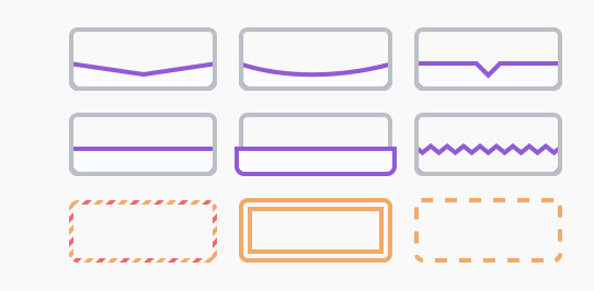 bloom plugin customized Borders & Edges