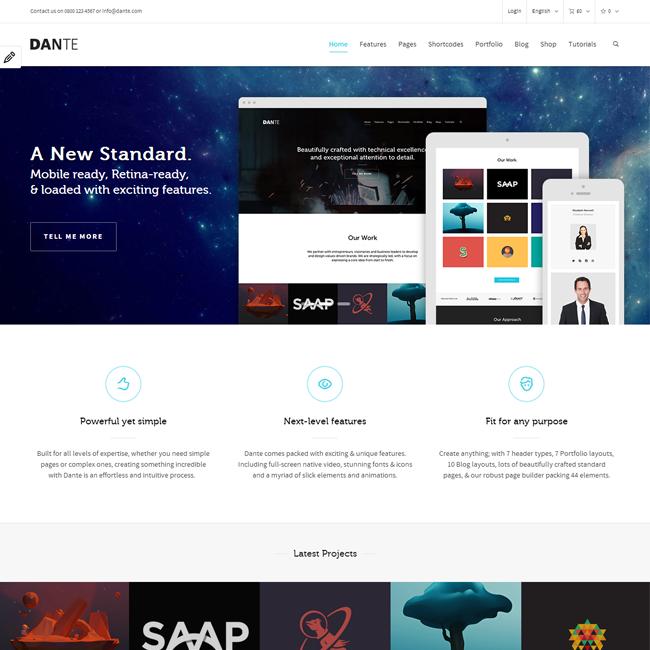 Dante Multi-Purpose WordPress Theme
