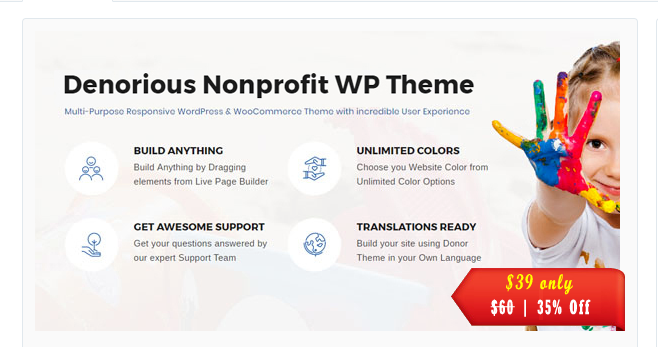 Denorious WordPress Theme