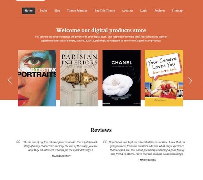 DigiSeller-WordPress-Theme