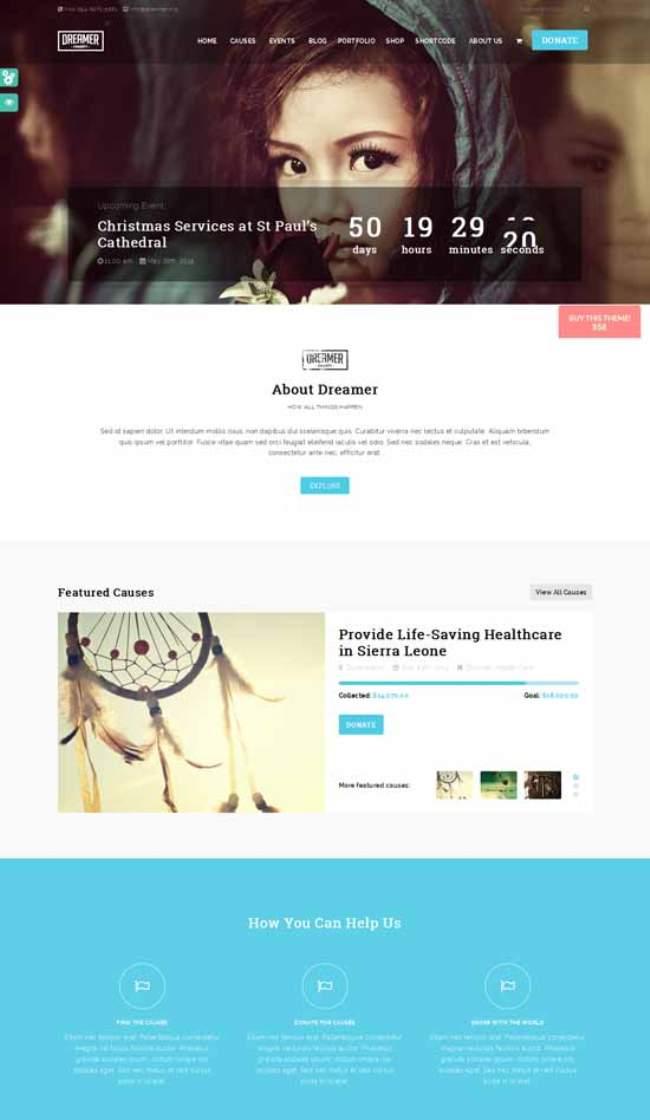 Dreamer-Multipurpose-Charity-WordPress-Theme