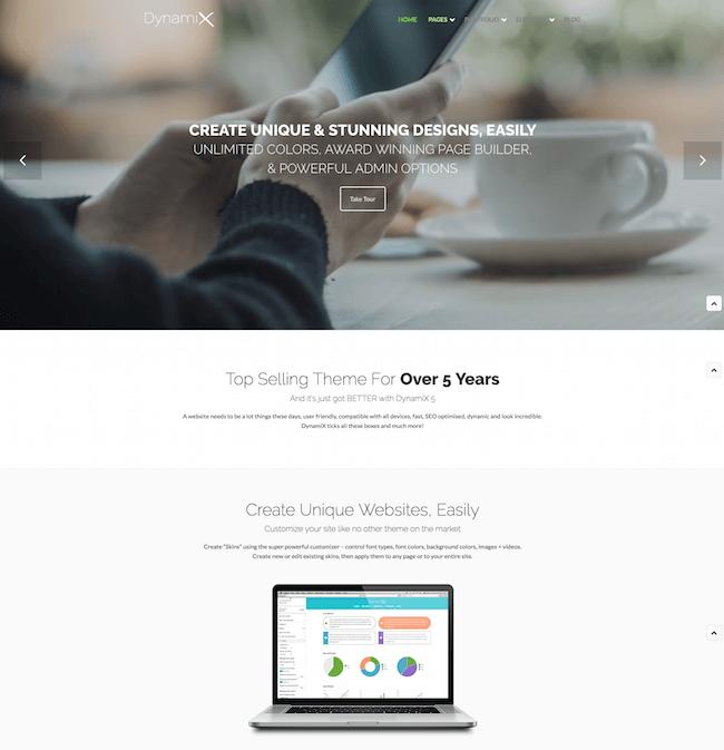 Dynamix WordPress Theme