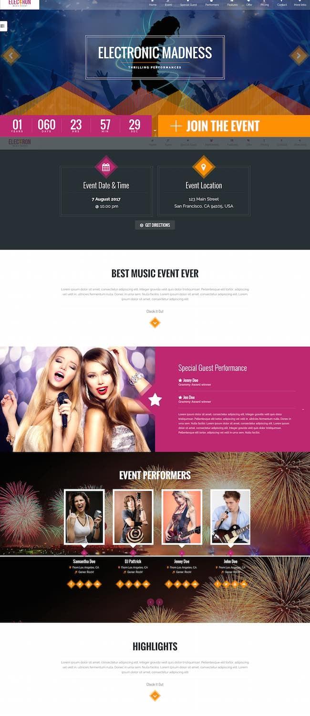 Electron WordPress theme