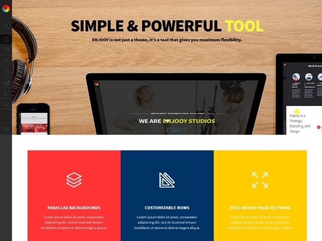 Enjooy WordPress Theme
