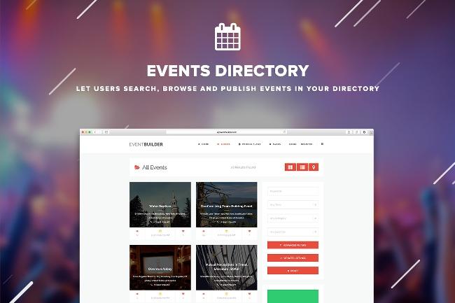 EventBuilder WordPress Theme