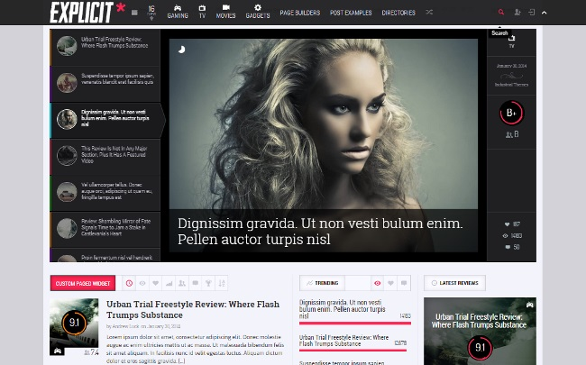Explicit-Magazine-Theme