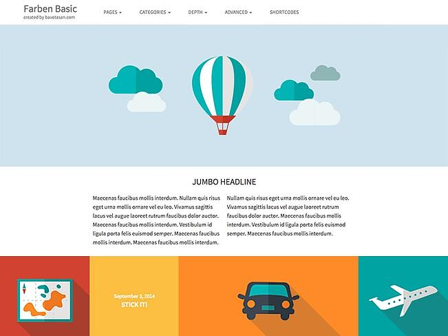 Farben Basic WordPress Theme