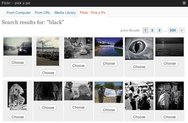 Flickr WordPress Plugin