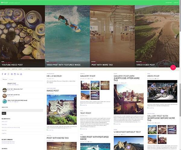 Fullby Bootstrap Theme