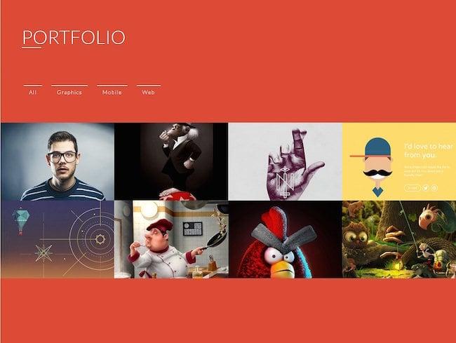 Fun Folio WordPress Theme