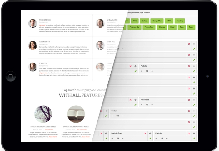 GT3 Page Builder