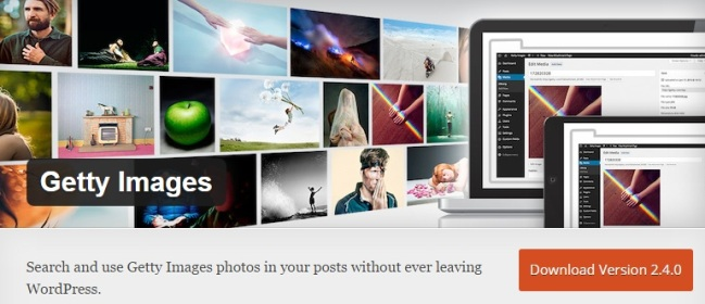 Getty Images WordPress Plugins